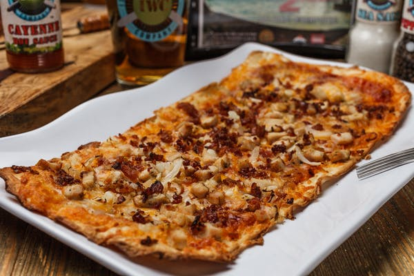 BBQ Chicken & Bacon Flatbread
