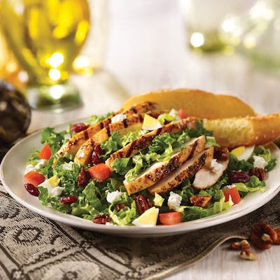 Fresh Kale & Grilled Chicken Salad