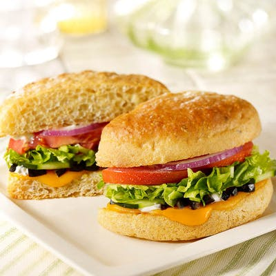 Fresh Veggie Sandwich
