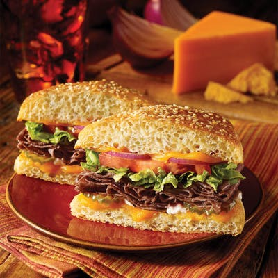 Angus Roast Beef & Cheese Sandwich