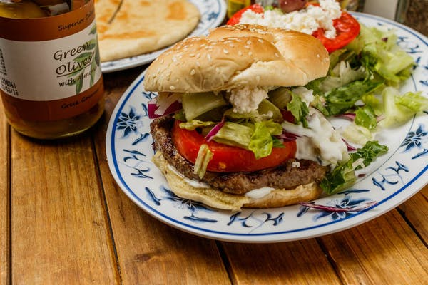 Greek Ares Burger