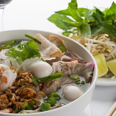 Hu Tieu Mixed Seafood