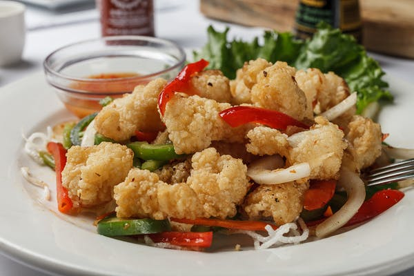 A16. Spicy Crispy Calamari