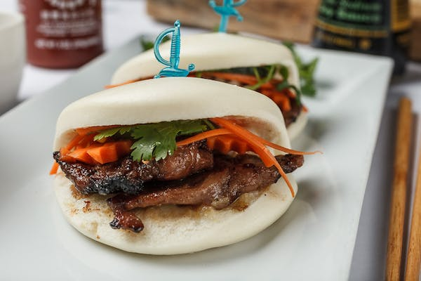 A18. Grilled Chicken or Pork on Buns