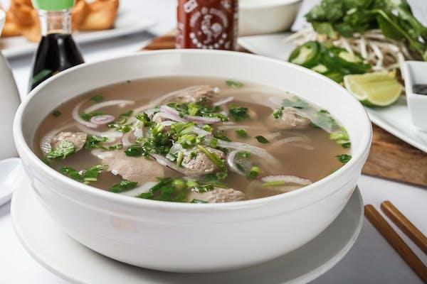 N1. Pho-Rice Noodle Soup