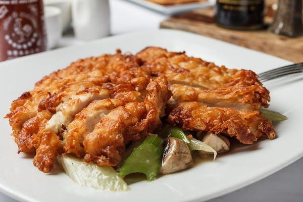 E1. Fried Boneless Chicken with Vegetables Entrée