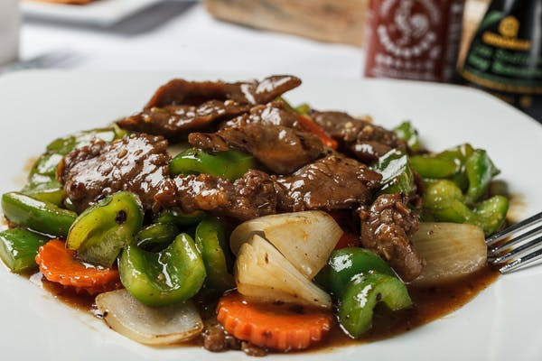 E7. Bell Pepper Steak Entrée