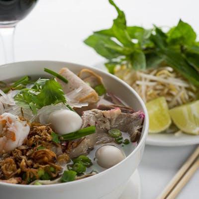 Clear Noodle Soup