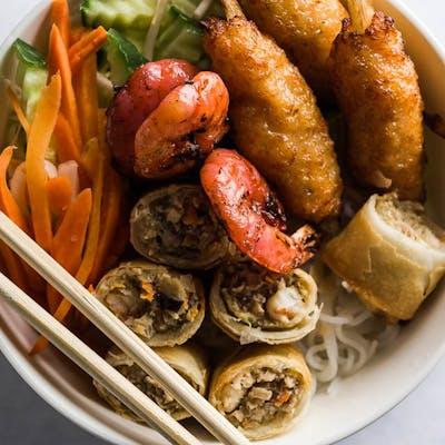 Grilled Shrimp Vermicelli Bowl