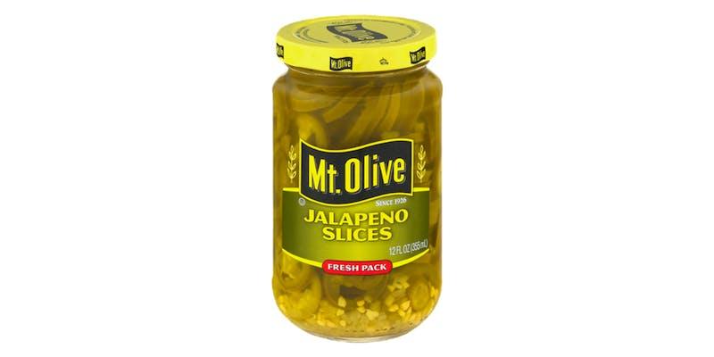 (12 oz.) Mt. Olive Jalapeño Slices