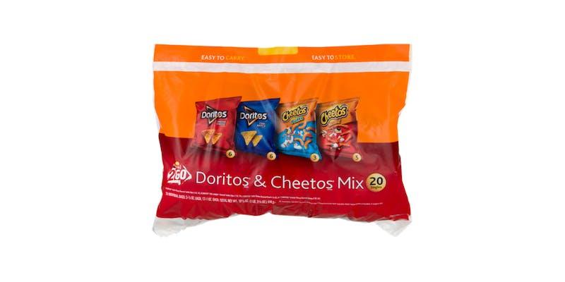 (18 ct.) Frito-Lay Doritos & Cheetos Mix