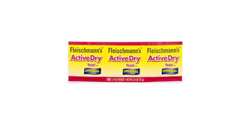 (3 ct.) Fleischmann's Original Active Dry Yeast
