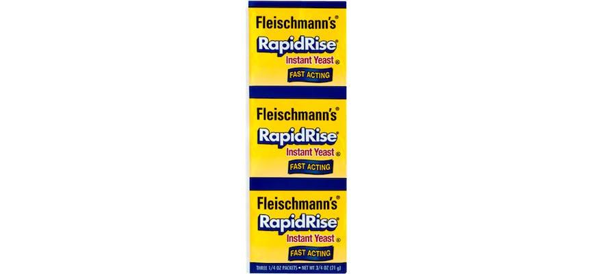 (3 ct.) Fleischmann's Rapid Rise Fast-Acting Instant Yeast
