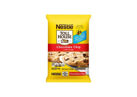 (16.5 oz.) Nestle Toll House Chocolate Chip Cookie Dough