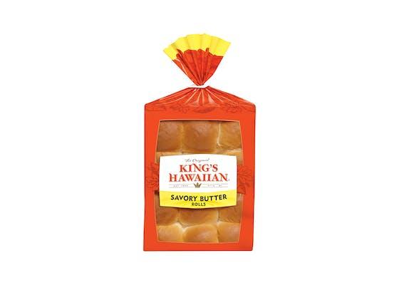 (12 ct.) King's Hawaiian Savory Butter Rolls