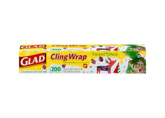 (200 ft.) Glad ClingWrap Plastic Wrap