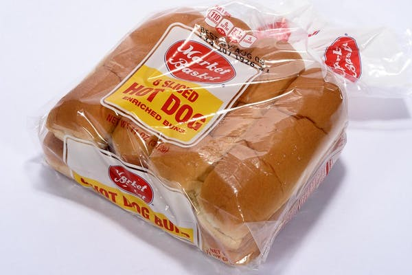 (11 oz.) Market Basket Hot Dog Buns
