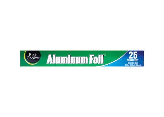 (25 ft.) Best Choice Aluminum Foil