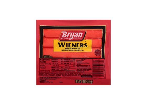(12 oz.) Bryan All-Meat Wieners