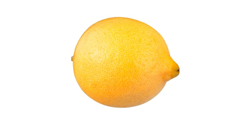 (1 ct.) Small Lemon