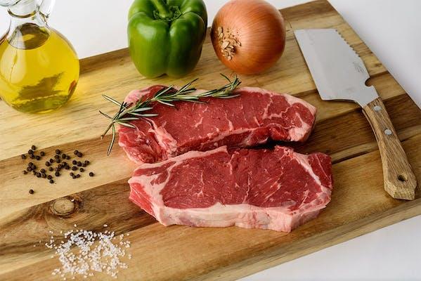 Heavy Beef Sirloin Strip Steak Small Pack (1.15 lb.)