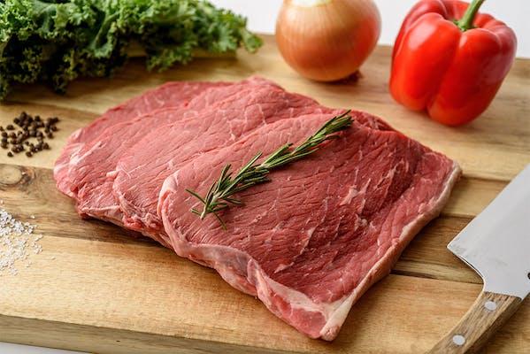Heavy Beef Bottom Round Steak Family Pack (2 lb.)