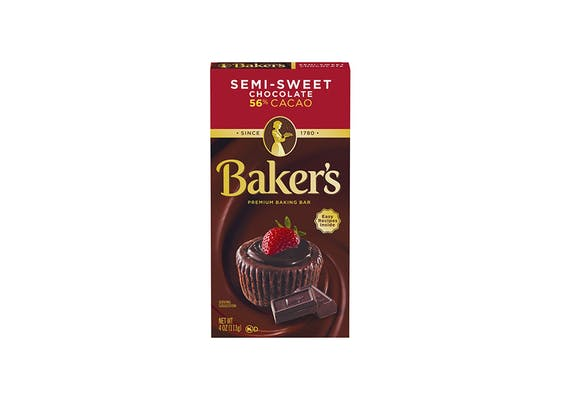 (4 oz.) Baker's Chocolate Baking Bar