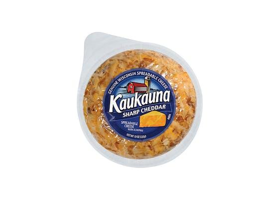 (10 oz.) Kaukauna Wisconsin Spreadable Cheese Ball