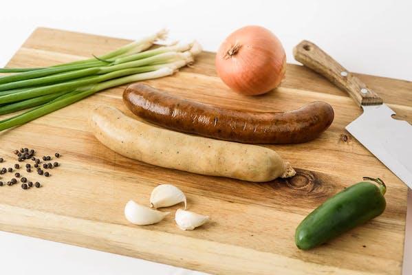 (1 lb.) Heated Meat Market Boudin