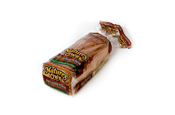 (20 oz.) Nature's Own 100% Whole Wheat