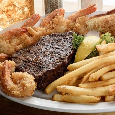 Sirloin Steak & Shrimp