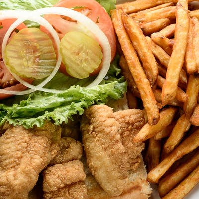 Fried Catfish Poboy