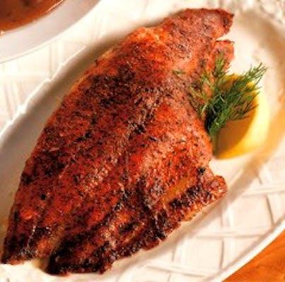 Blackened Redfish Fillet