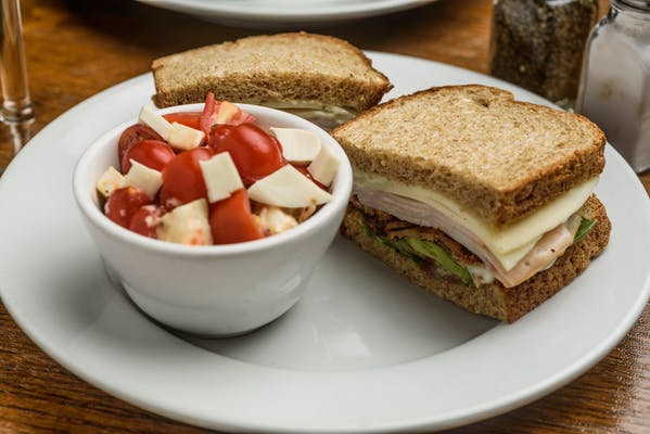 Bacon & Turkey Club sandwich