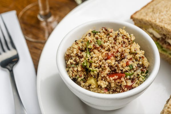 Quinoa with Apricots & Pine Nuts Salad