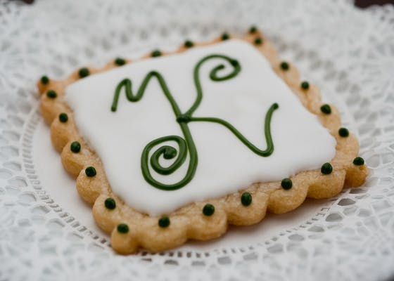 Iced Shortbread Cookie