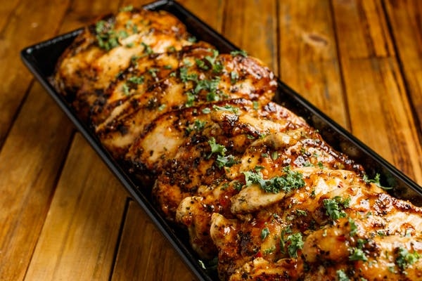 Chicken Breast with Apricot Chile Sauce