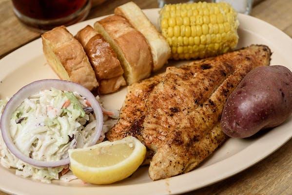 Grilled Fish Platter