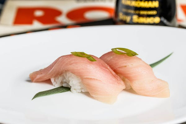 Yellowtail Nigiri (with rice)
