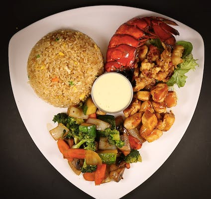 Chicken & Lobster Hibachi