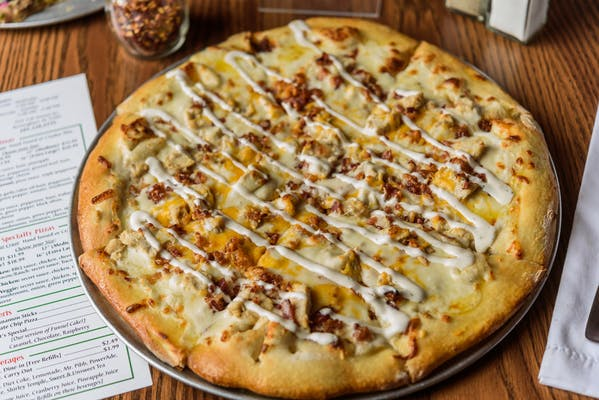 Chicken, Bacon & Ranch Pizza