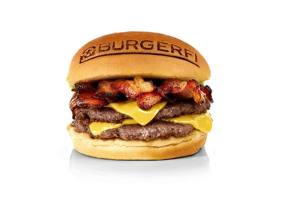 BurgerFi Bacon Cheeseburger (Double)