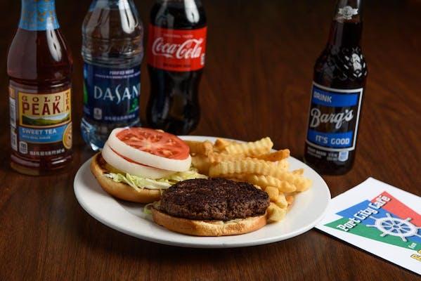 Hamburger Coca-Cola Combo