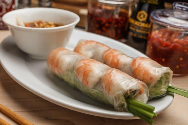 3. Pork & Shrimp Spring Rolls (2)