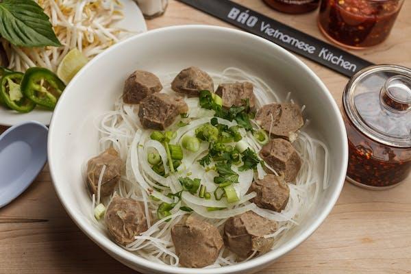 14. Beef Meatball Pho
