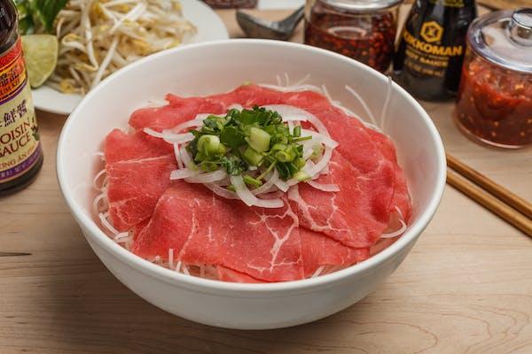 15. Rare Steak Pho