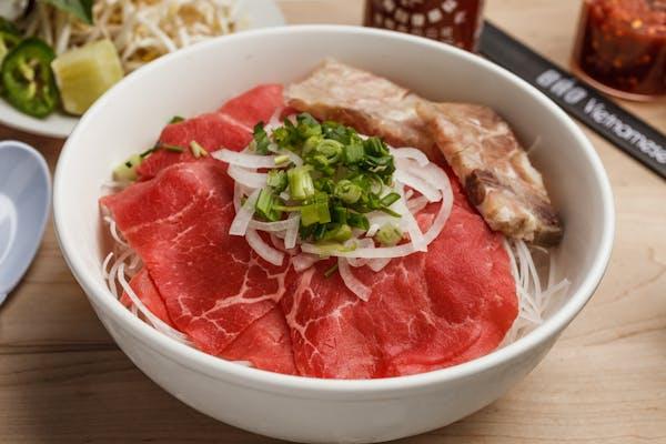 20. Rare Steak & Tendon Pho