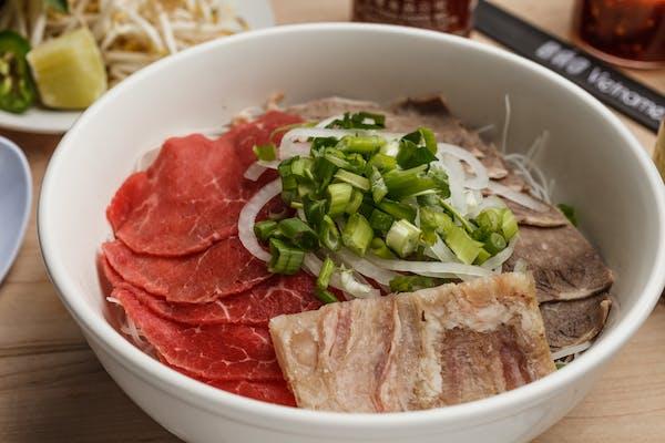 22. Rare Steak, Brisket & Tendon Pho