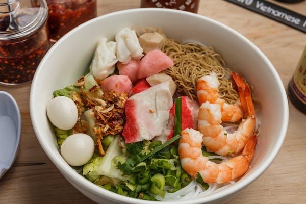 31. Seafood Hu Tieu & Egg Noodle Soup