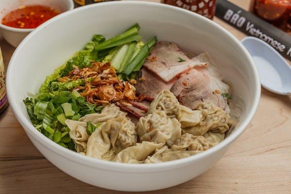 32. Wonton & Egg Noodle Soup